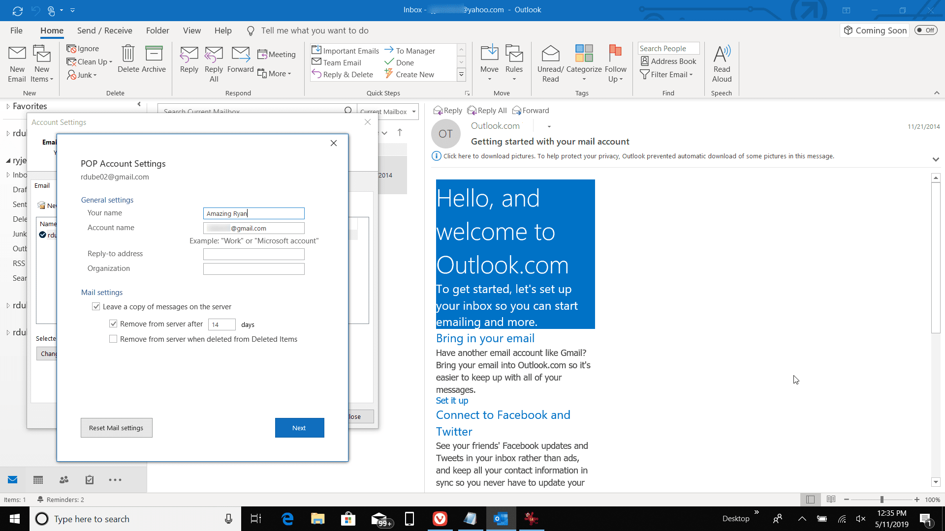 How to Change the Email Sender Name in Microsoft Outlook