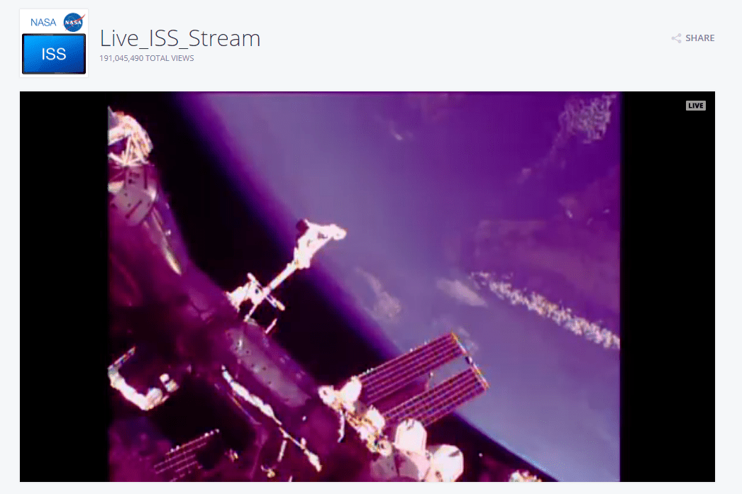 International Space Station Webcam