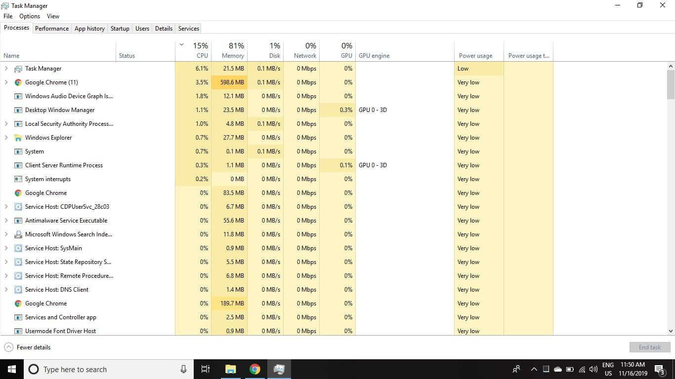 Open Task Manager and select the Startup tab.