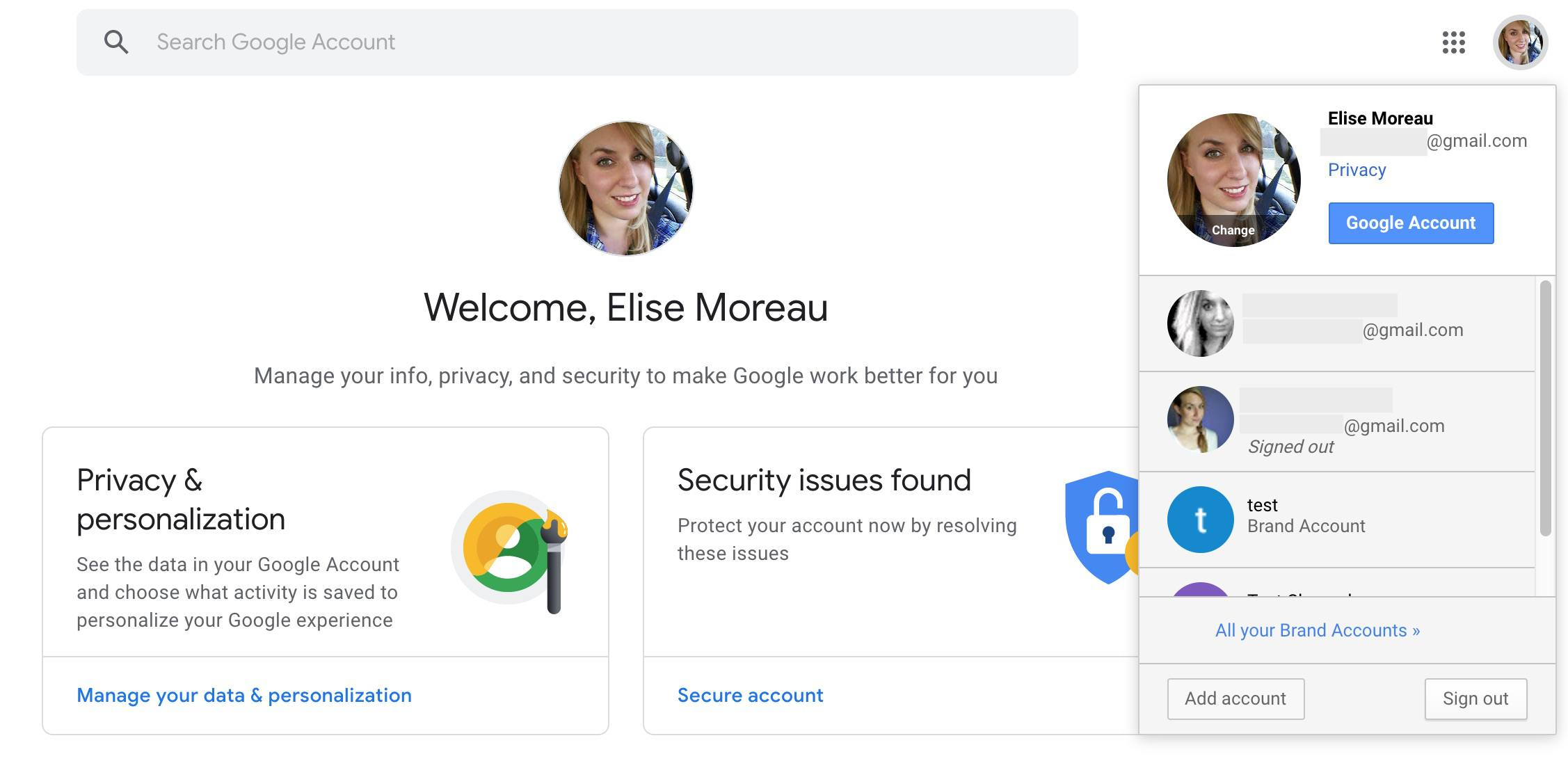 How to Change Your Default Google Accounts