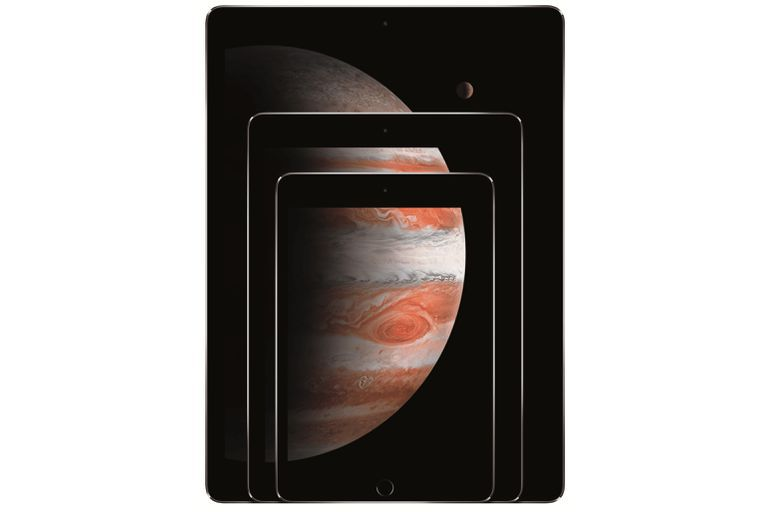 iPads in three sizes