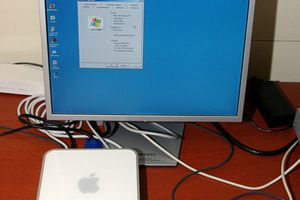 Windows XP on an Intel Based Mac Mini