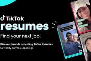 TikTok Resumes announcement image