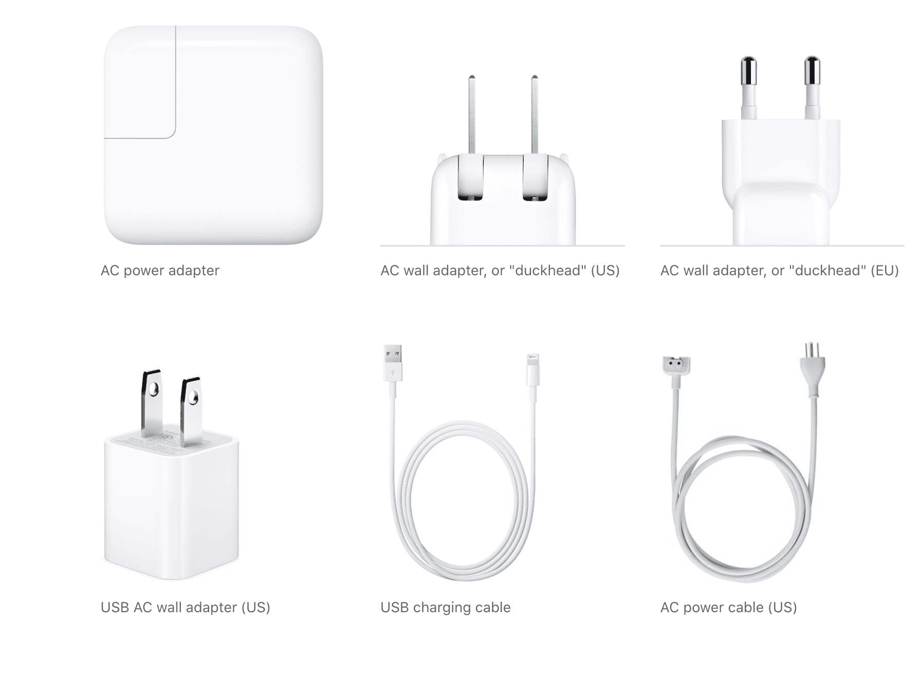 Apple Power Adapters