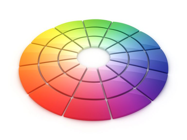 Digital color wheel