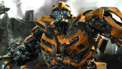 A screenshot of Bubmle Bee from the Transformer movies.