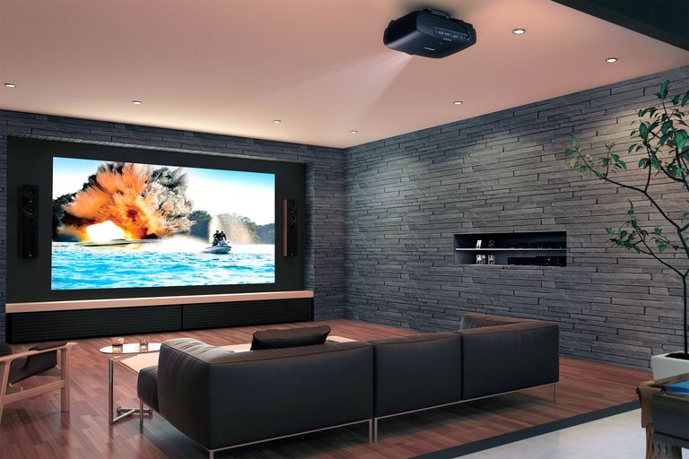 Epson 4Ke Video Projector/Home Theater Lifestyle Image