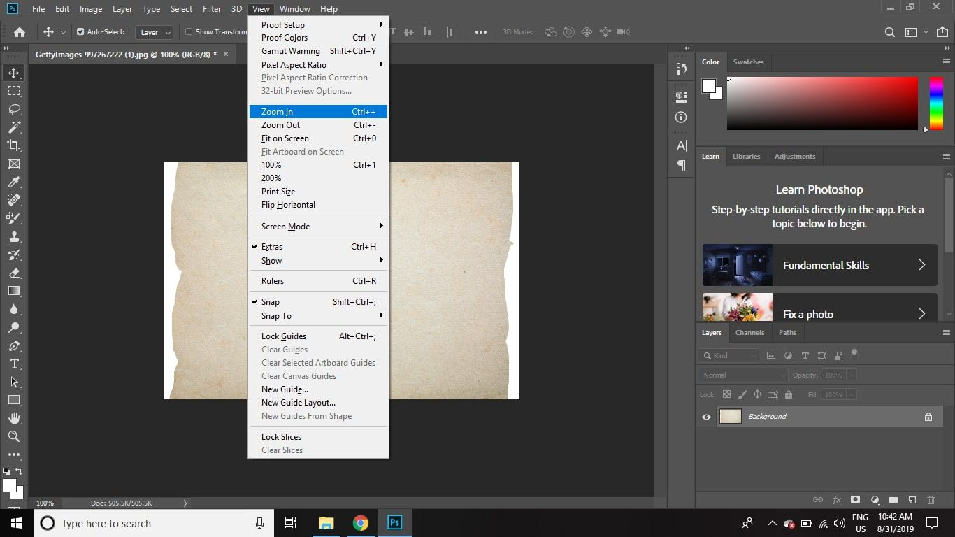 How to Make a Torn Paper Edge in Photoshop