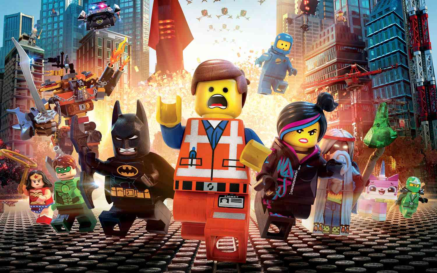 Theatrical release poster for The Lego Movie (2014)