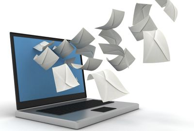MacBook image with mail