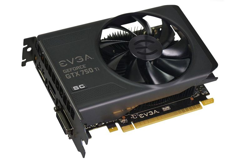 EVGA GeForce GTX 750 Ti Superclocked 2GB