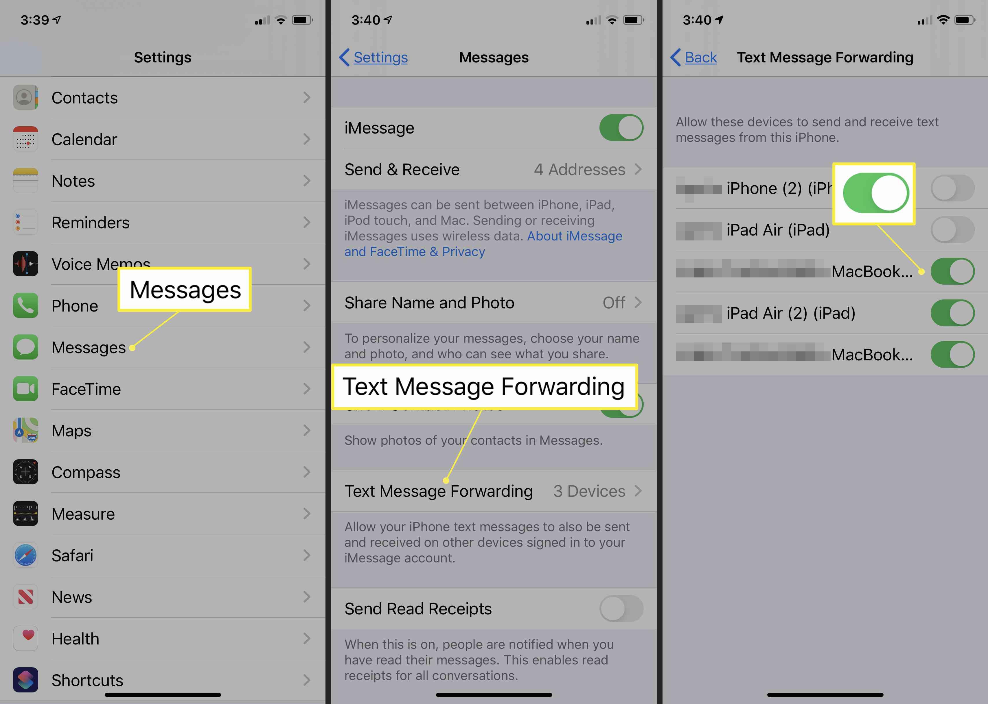 Get sms on mac