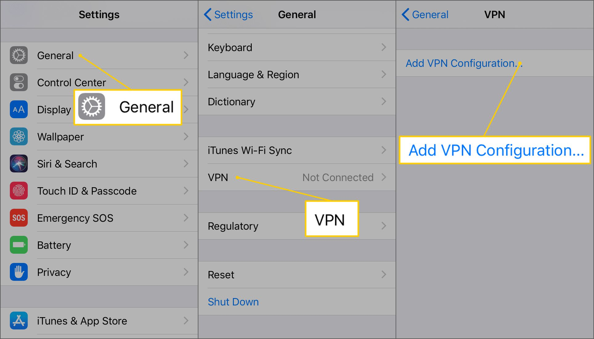 How to Set Up an iPhone VPN
