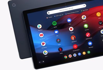 The Google Pixel Slate is a Chrome OS Tablet.