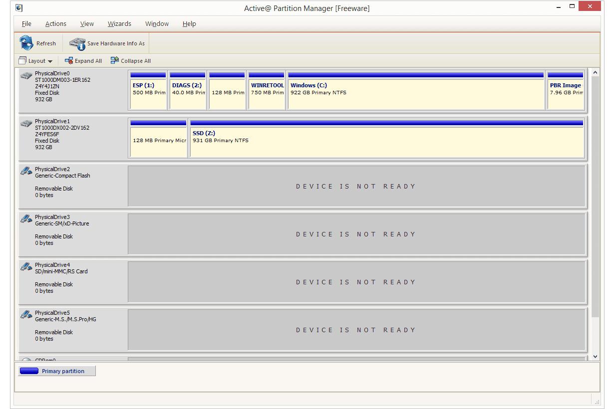 Rendre partition active