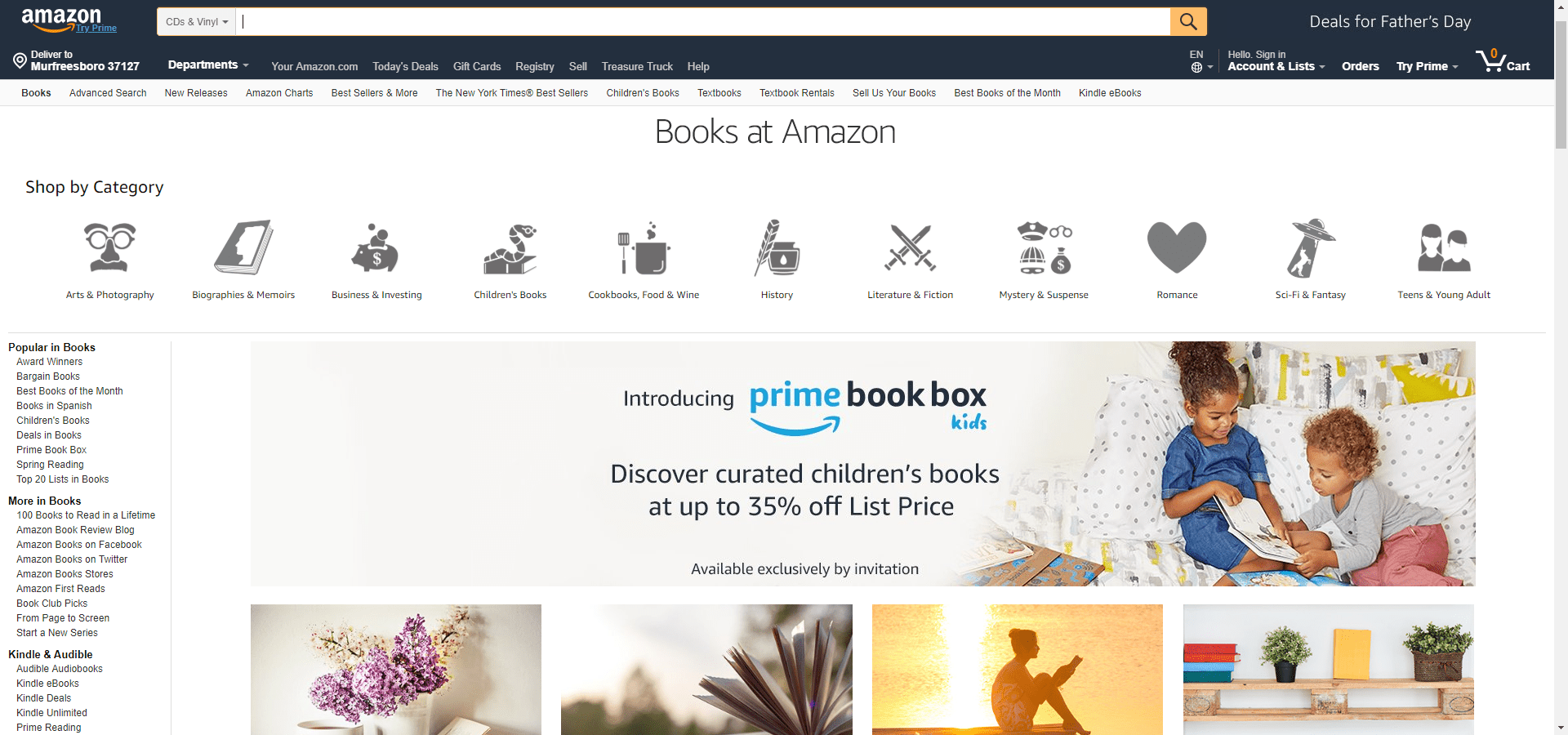 the top 11 sites for book lovers