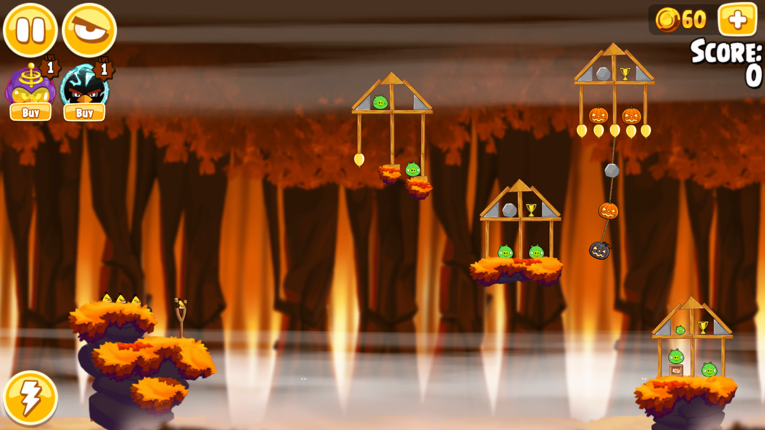 Angry Birds Hammier Things the best halloween games for android