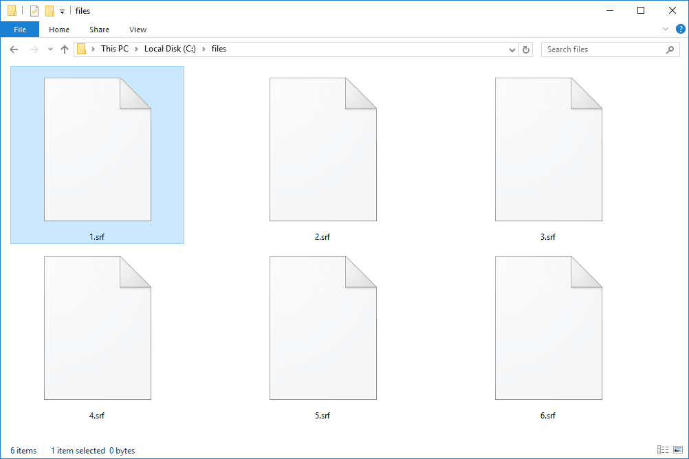 SRF File (What It Is and How to Open One)