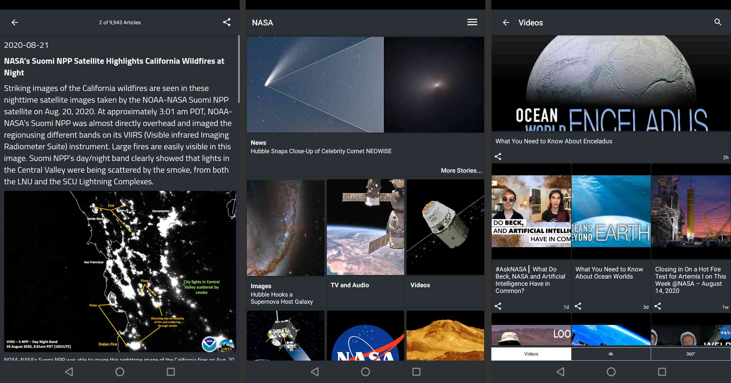 NASA on Android