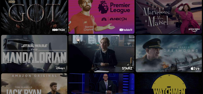 Google TV channels