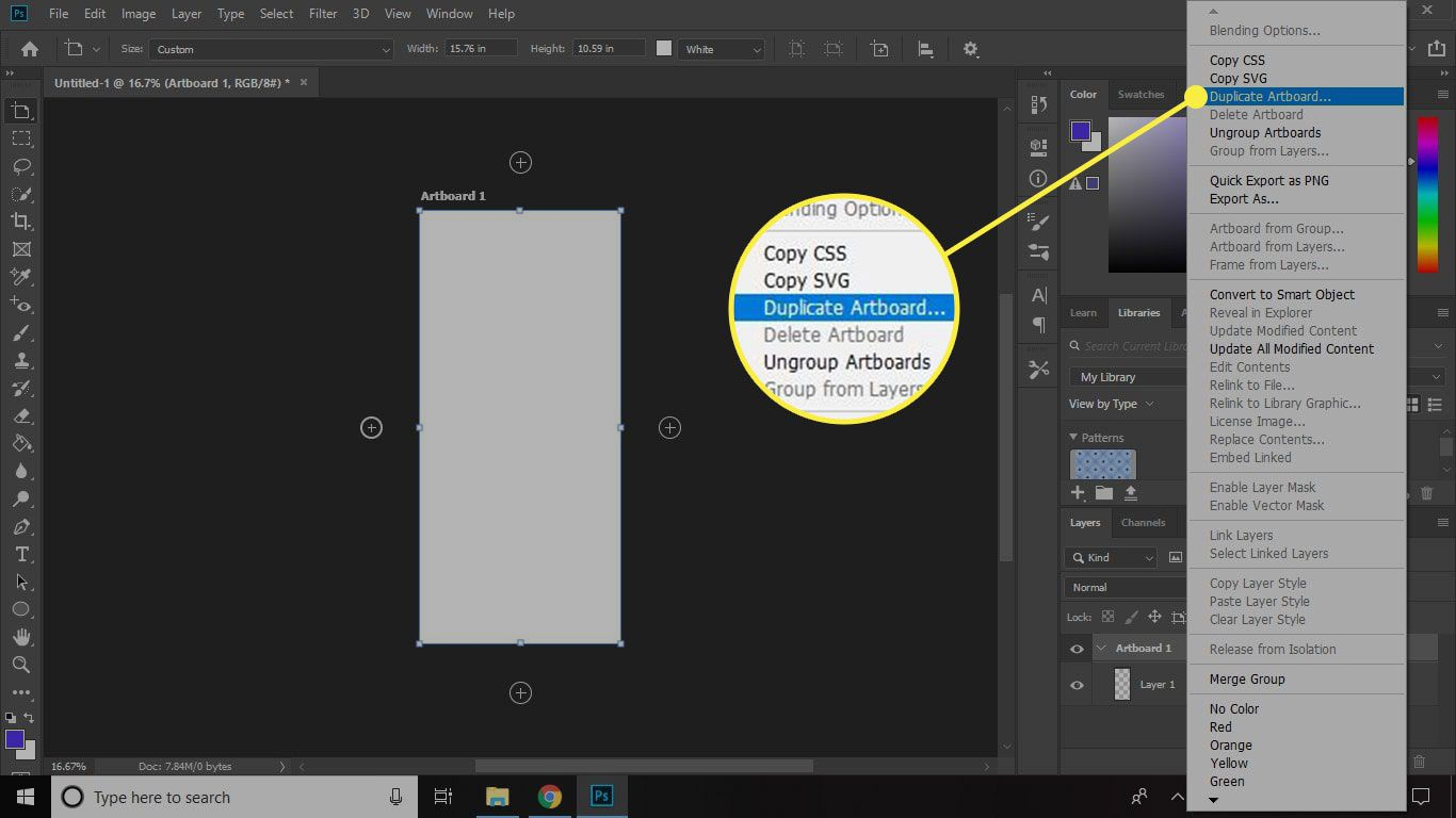 How To Use The Artboards Feature Of Adobe Photoshop Cc