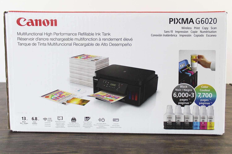 The Canon PIXMA G6020
