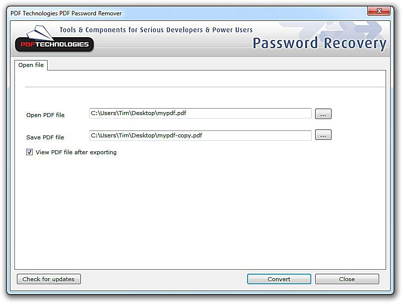 5 Free PDF Password Remover Tools