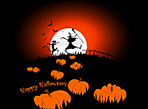 halloween night silhouettes halloween screen savers for macs