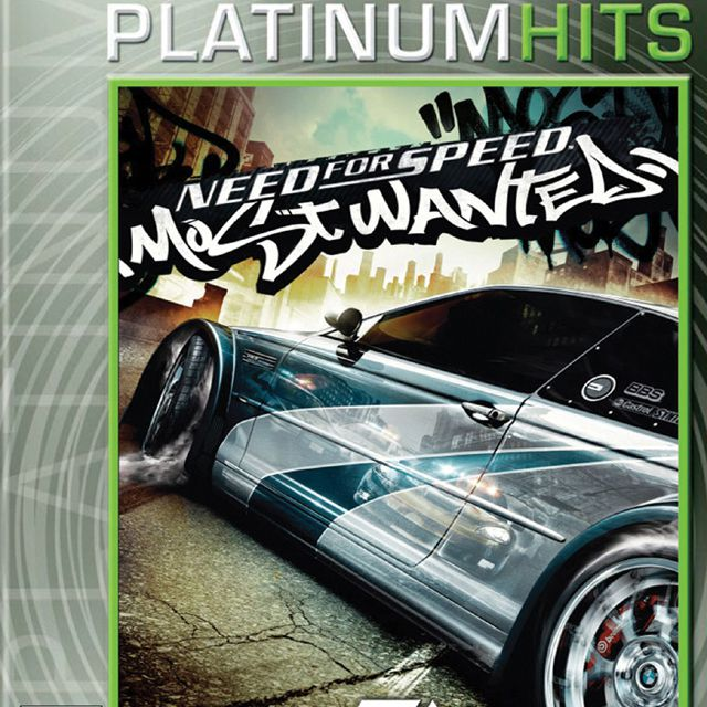 NFS Most Wanted box