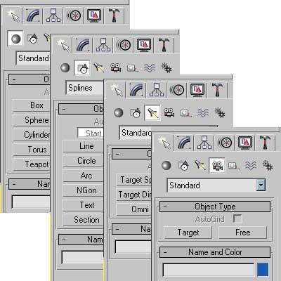 Understanding the Main Tools in 3D Studio Max