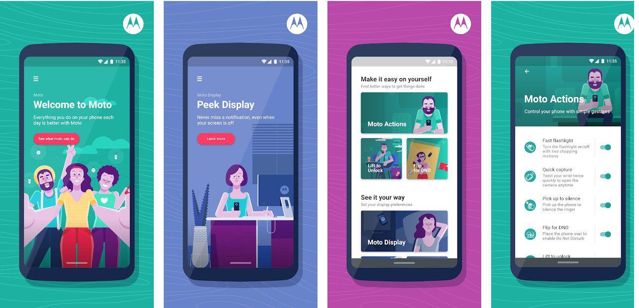 Motorola Moto App