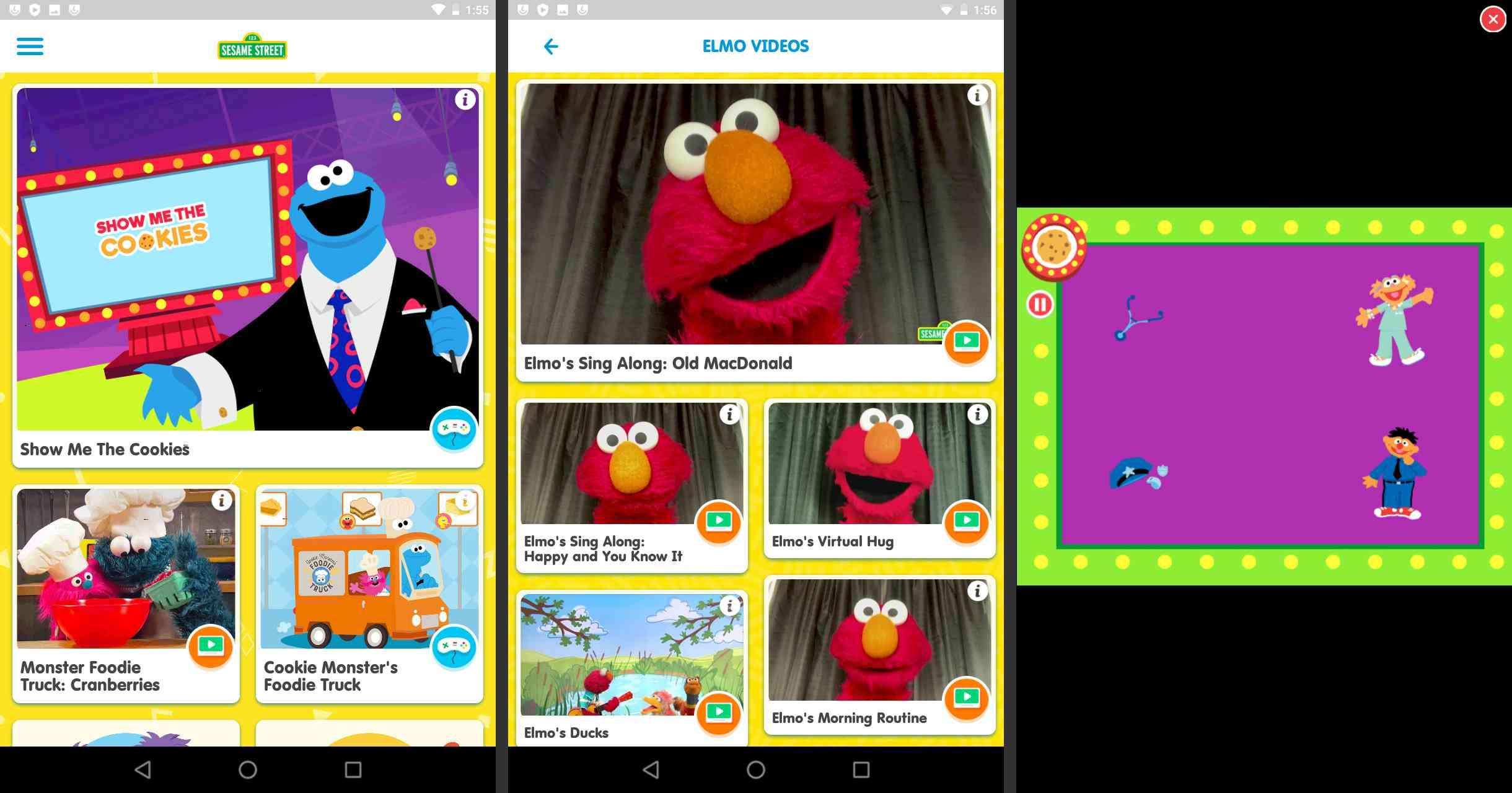 Sesame Street on Android