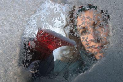 cigarette lighter heater windshield frozen
