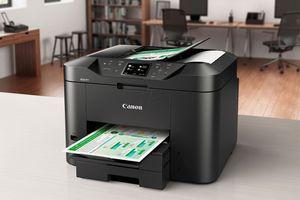 Canon Maxify MB2720 Wireless Color Inkjet Printer.