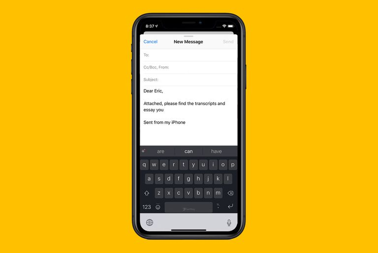 add new keyboards to iphone