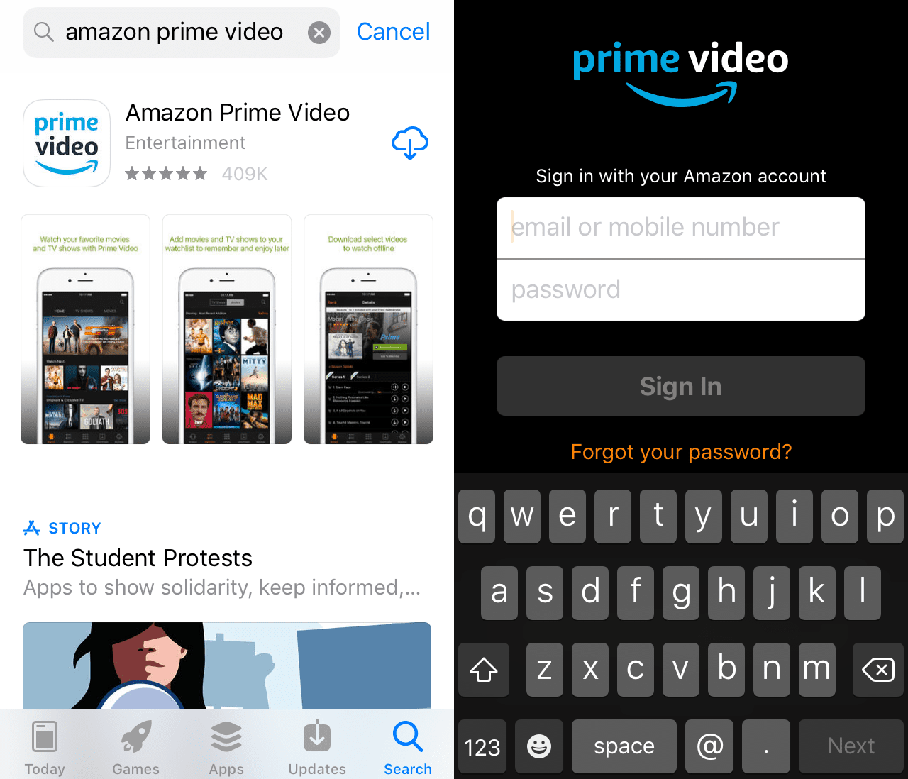 watch amazon prime on iphone how to prime on apple tv 18169