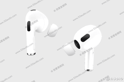 Alleged AirPods 3 photo