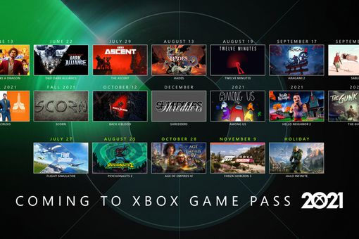 A list of games coming to Xbox Game Pass in 2021