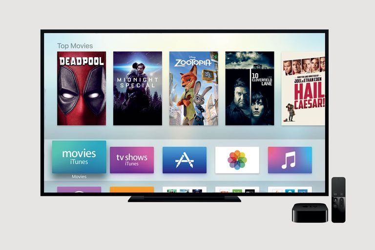 apple television home screen