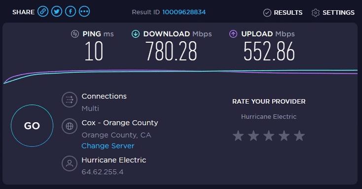 Speed Test Net Speed