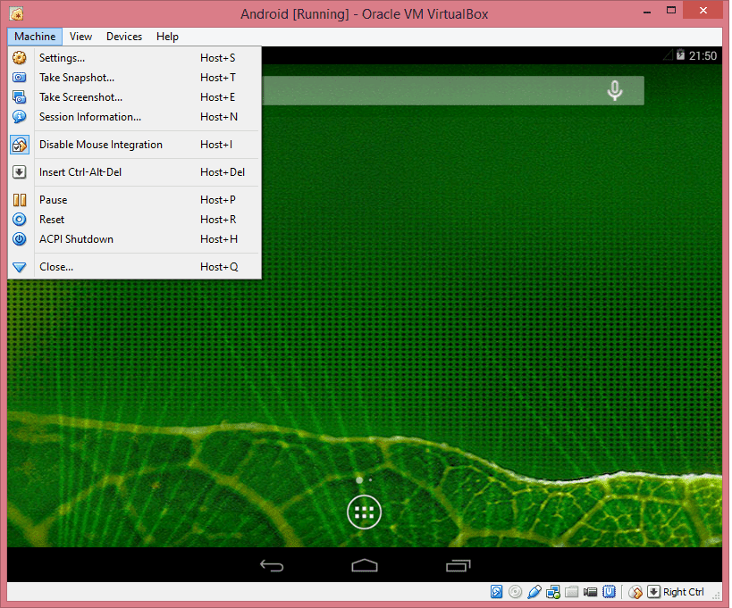 Tips and Tricks for Using Android Within VirtualBox