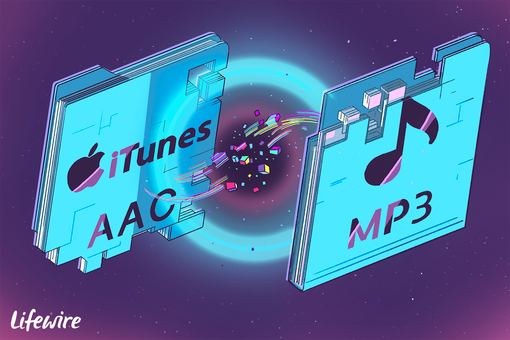 Conversion of iTunes AAC to MP3
