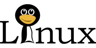 Linux logo with penguin head