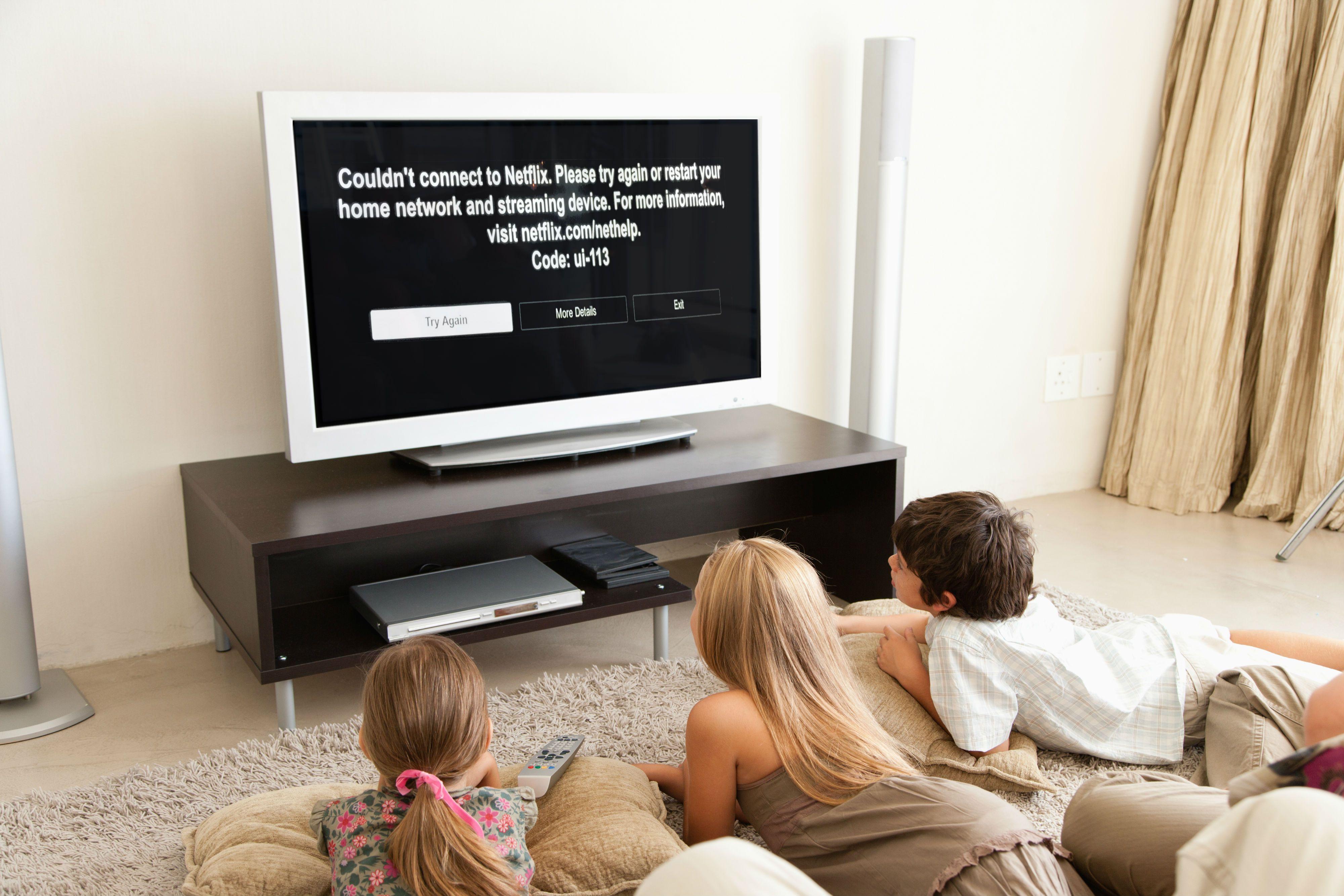 Netflix tv help connect