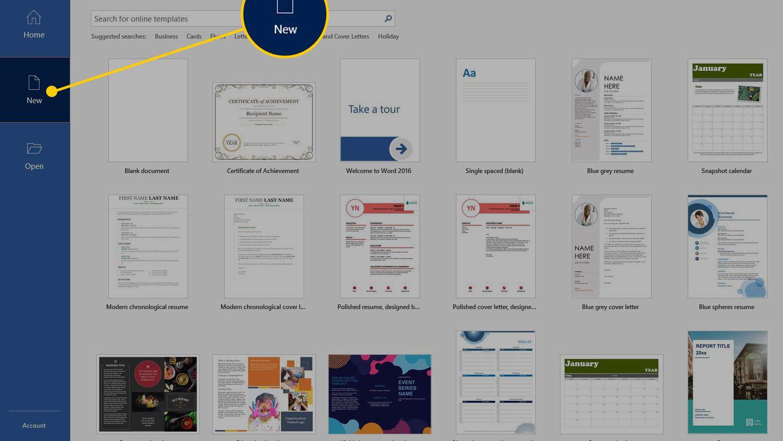 Using A Certificate Template In Microsoft Word