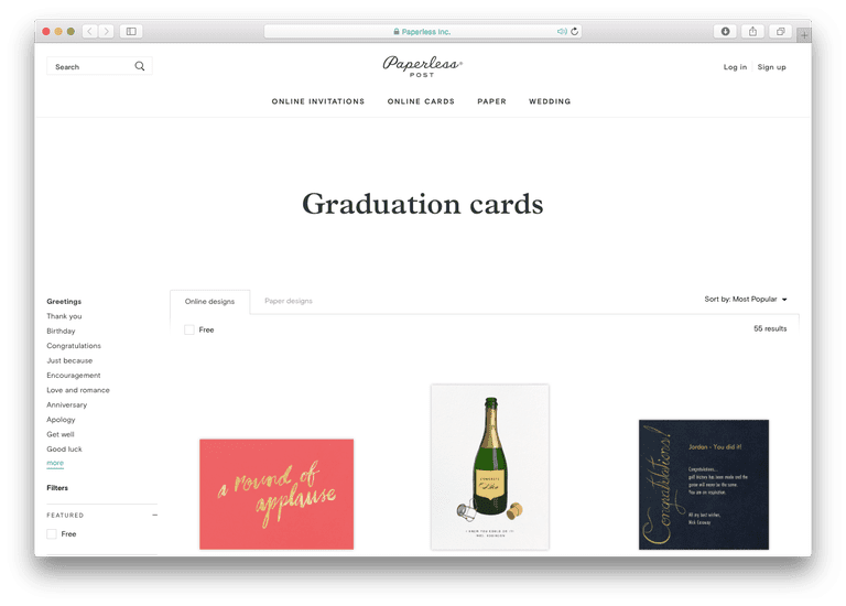 26 favorite graduation e card sites 2018 paperless post graduation cards m4hsunfo
