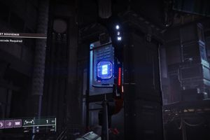 Paper missize symbol in Destiny 2 in the crosshairs of a bow