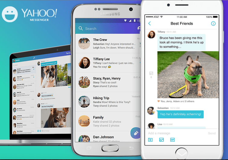 How to Download the Yahoo Messenger App on an iPhone