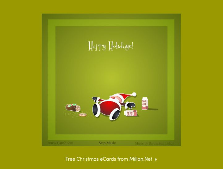 15 free christmas ecards to send to family and friends santa passed out from eggnog and yule log camilla erikssoncare2 what a fun christmas ecard m4hsunfo
