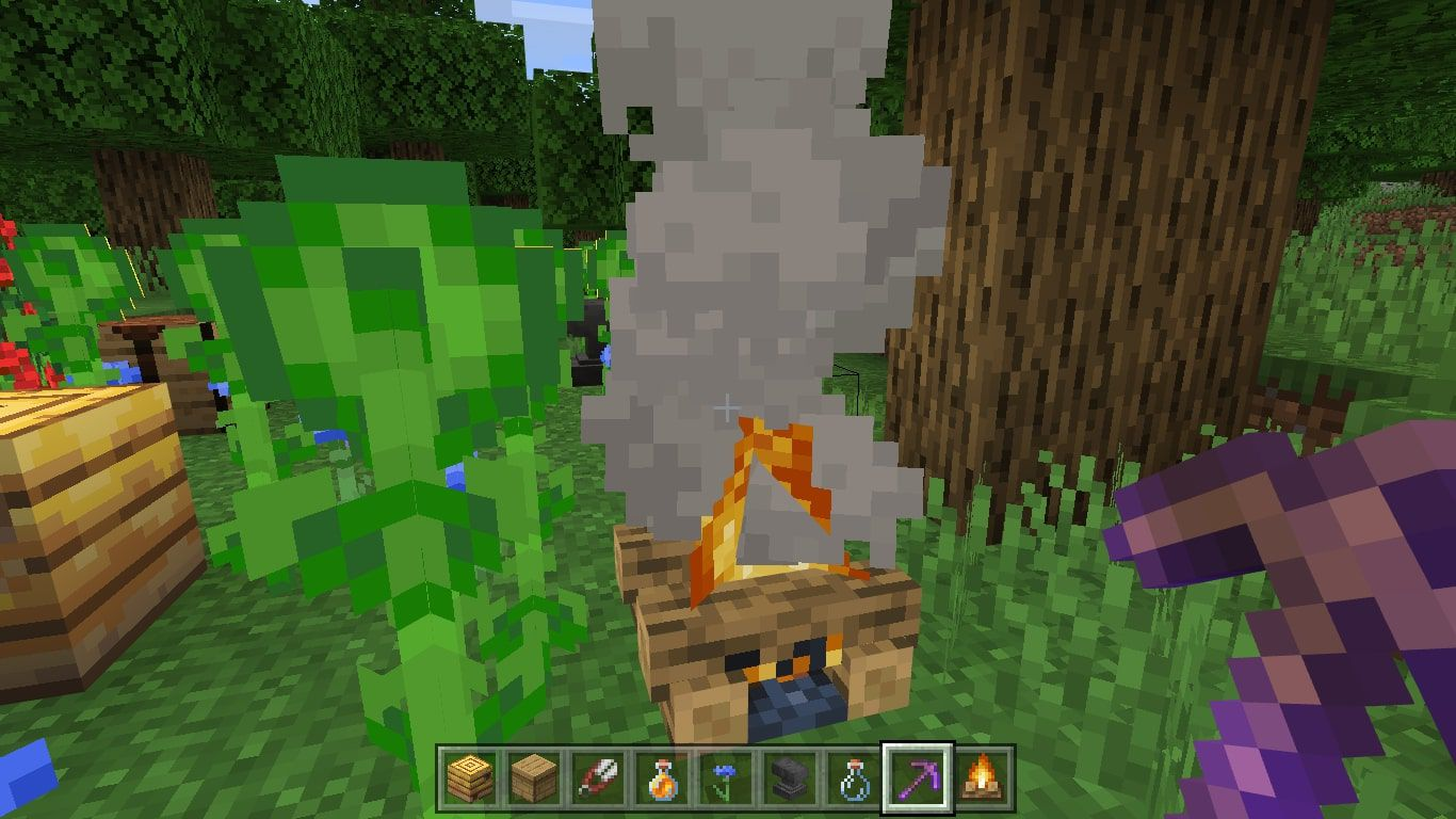 Place a Campfire close to the beehive.